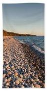 Pebble Beach Autumn    Beach Towel