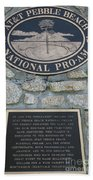 Pebble Beach National Pro-am I Beach Towel