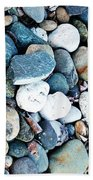 Pebbles 03 Beach Towel