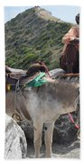 Peddler Of The Mountains Beach Towel