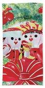 Peek-a-boo Christmas Beach Sheet