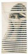 Peeping Alex Beach Towel