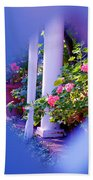 Peeping Trough The Fence Beach Towel