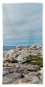 Peggy's Point Lighthouse Beach Towel