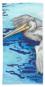 Pelican Beach Towel