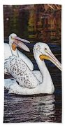 Pelican Love Beach Sheet