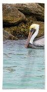 Pelican Trolling Beach Towel