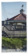 Pelican Weathervane Ocean Isle Norht Carolina Beach Towel