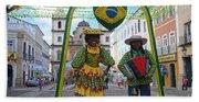Pelourinho - Historic Center Of Salvador Bahia Beach Towel