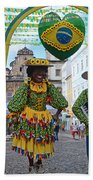 Pelourinho - Historic Center Of Salvador Bahia Beach Towel