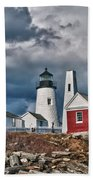 Pemaquid Point Lighthouse 4821 Beach Towel