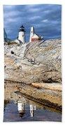 Pemaquid Reflection Beach Towel