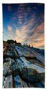 Pemaquid Sunrise Beach Towel