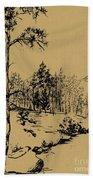 Colorado Landscape Beach Towel