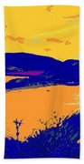 Peninsula Orange Beach Towel