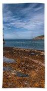 Penmon Lighthouse Beach Towel