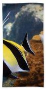 Pennant Coralfish Beach Towel