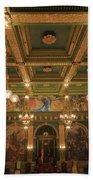 Pennsylvania Senate Chamber Beach Towel by Shelley Neff