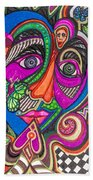 Penny For Your Thoughts Beach Towel