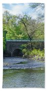 Pennypack Creek Bridge Built 1697 Beach Towel