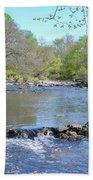 Pennypack Creek - Philadelphia Beach Towel