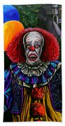 Pennywise It Beach Towel