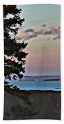 Penobscot Bay At Dusk Beach Towel
