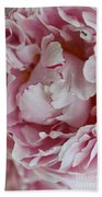 Peony Close Up Beach Towel