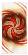Pepermint Swirl Beach Sheet