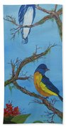 Perched 2 Beach Towel