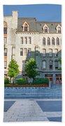 Perelman Quadrangle - University Of Pennsylvania Beach Towel