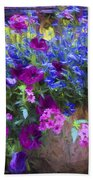 Perennial Flowers Y2 Beach Towel