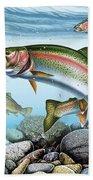 Perfect Drift Rainbow 2 Beach Towel