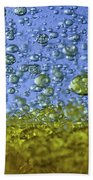Abstract Olive Oil Beach Towel