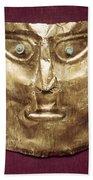 Peru: Chimu Gold Mask Beach Sheet