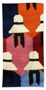Peru Hat Tapestry Beach Towel