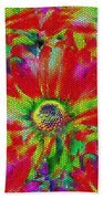 Petal Power Beach Towel