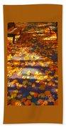 Petals Of Faith Beach Towel