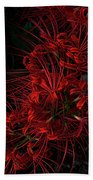 Petals Of Fireworks Beach Towel