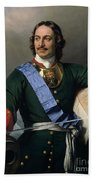 Peter I The Great Beach Towel