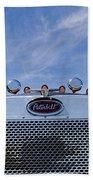 Peterbilt Semi Truck Emblem Beach Towel