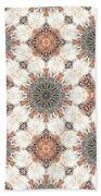 Petrified Folk Tapestry Beach Sheet