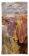 Petrified Wood 2 Beach Towel