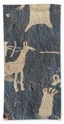Petroglyphs, Utah Beach Towel