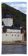Pfalz Castle Beach Towel