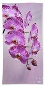 Phalaenopsis Lianher Happy Dancer Beach Towel