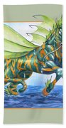 Phantasmal Mount Beach Towel