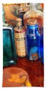 Pharmacist - Medicine Cabinet  Beach Towel by Mike Savad