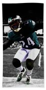 Philadelphia Eagles 5a Beach Towel