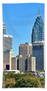 Philadelphia In Tight Beach Towel